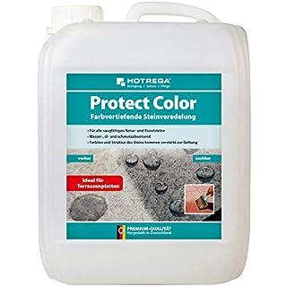 HOTREGA Protect Color - farbvertiefende Steinveredelung, Profi Imprägnierung, Imprägniermittel 5 Liter