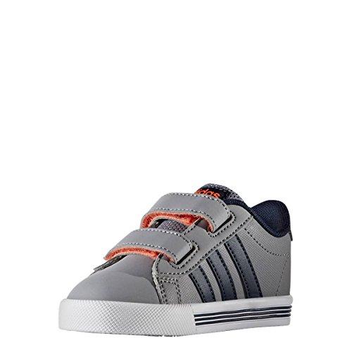 adidas Daily Team Inf, Scarpe da Ginnastica Unisex – Bambini Grigio ( Gris/Maruni/Narsol)