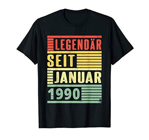 Legendär seit Januar 1990 30. Geburtstag Vintage T-Shirt