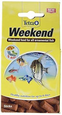 Tetra Weekend Holiday Fish Food Sticks, 10 Sticks by Spectrum Brands
