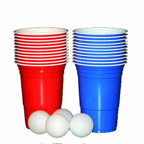 Mydio - Juego vasos plástico desechables reutilizables