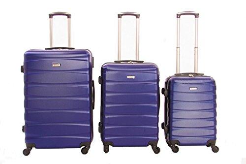 Dublín 2- combinación número 3 maletas ABS policarbonato