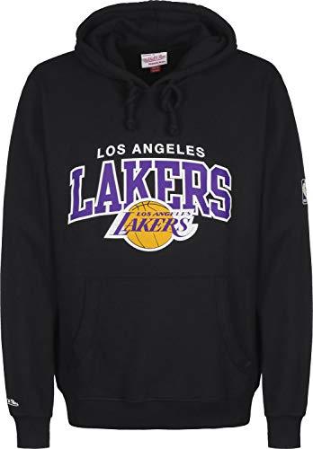Mitchell & Ness Arch Logo LA Lakers Hoodie Black -