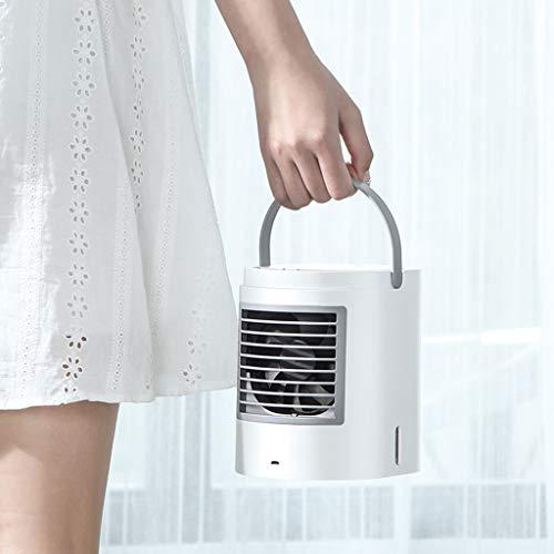 TianranRT Luft Persönlich Luft Conditioner Kühler Luftbefeuchter Tragbar Mini Größe Tisch Ventilator (Schwarz) (Persönliche Luft-kühler)