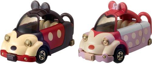Disney Tomica - Voiture Mickey et Minnie mouse (métal)