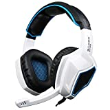 Auriculares PS4, SA708GT 3.5mm Gaming Headset con micrófono para PC/Xbox One