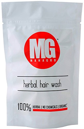 MahaGro Hair Wash- Herbal, Organic & No Chemicals- 200g