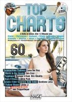 Top Charts 60 mit Playback CD: Nur die besten und aktuellsten Chart-Hits: Summertime Sadness - World In Our Hands - Payphone - Burn It Down - Balada - I Follow Rivers