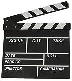 R&F srls Ciak CINEMATOGRAFICO in Legno 27X30 CM Set Film SCENOGRAFIA