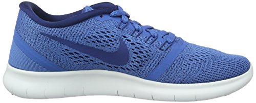 Nike Wmns Free RN, Chaussure de Sport Femme Blu (Star Blue/Coastal Blue/Off White)