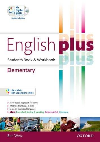 English plus. Elementary. Student's book-Workbook. Ediz. standard. Per le Scuole superiori. Con CD Audio. Con espansione online