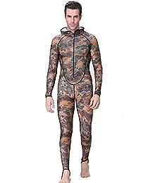 c923a8bb8a9 Un punto Submarinismo y esnórquel Full Body sudadera con capucha traje de  buceo traje de neopreno para hombres mujeres