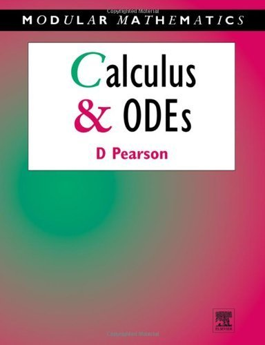 Calculus & Ordinary Differential Equations (Modular Mathematics Series) by Pearson, Carl E. (1995) Paperback