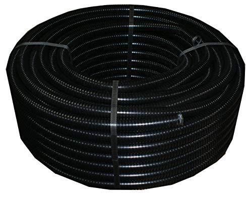 erd leerrohr Leerrohr Aussenbereich 50m M32 Wellrohr UV beständig kunststoffrohr Wellschlauch Elektro Rohr 320N 0,92€/m