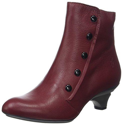 Fly London Bibs118fly, Stivali Donna Rosso (Cordoba Red)