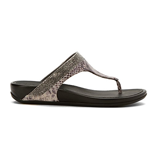 FitFlop Banda Crystal Synthétique Tongs Mink