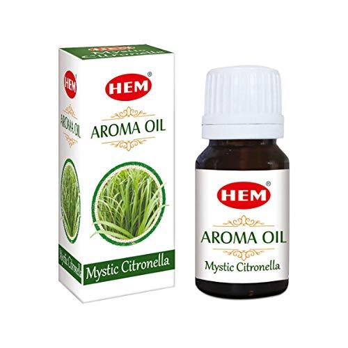 Sharvgun Hem Mystic Citronella Aromaöl 10ml (Lemongrass Massage-öl)