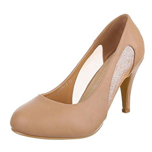 Damen Schuhe, DM1057-19, PUMPS KLASSISCHE
