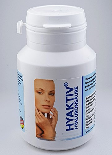 10 x Hyaktiv Hyaluronsäure Anti Aging , 70mg Hyaluron pro Kapsel , 60 Kapseln pro Dose , HERGESTELLT IN DEUTSCHLAND -
