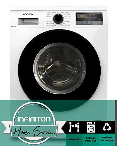 LAVADORA INFINITON WM-IN81420 8KG DE CARGA FRONTAL INVERTER (A+++, 1400 rpm, EASYPLAY, 16 PROGRAMAS, PUERTA EXTRAGRANDE, INDEPENDIENTE)