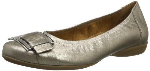 Gabor Shoes Gabor Comfort, Scarpe con plateau donna argento (Silber (mutaro))