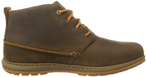 Columbia Davenport Chukka Waterproof Leather, Chaussures à Lacets Homme Marron (Elk/Bright Copper 286)