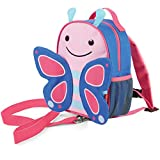 Skip Hop Zoo Rucksack, für Kinder, mit Leine, Sicherheitsleine, mehrfarbig, Schmetterling Blossom
