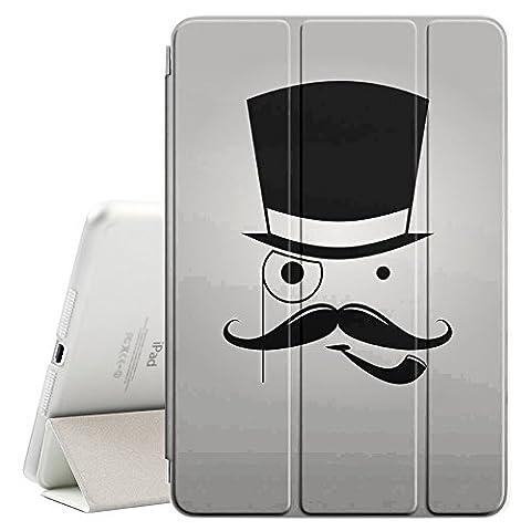 Graphic4You Moustache Avec Chapeau Drole Comique Design Étui Mince Smart