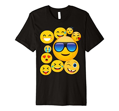 emoji tshirt Emoji-Pack Combo Emoticon Smily Face Emoji-T-Shirt