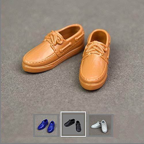 Chaussures Sapatos Shoes Ken Fashionistas Black Noires Doll Mattel Males Ii Jouets Et Jeux