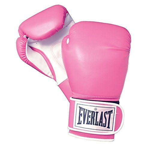 Everlast Woman's Wrist Wrap Level 1 Boxing Training Sparring Gloves 12 OZ. Pink by Everlast (Womens Boxing Handschuhe Und Wraps)