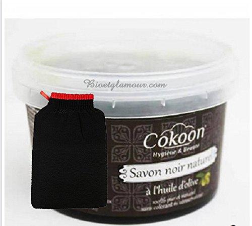 savon-noir-naturel-a-lhuile-dolive-250-g-et-1-gant-kessa-de-gommage-offert