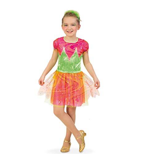 KarnevalsTeufel Kinderkostüm Elfe kleine Fairy Fee Waldelfe zauberhaft märchenhaft Fasching Gr 104 - 128 - Hellseher Kostüm