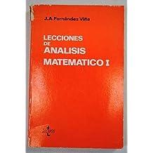 Analisis matematico. (t. 1)