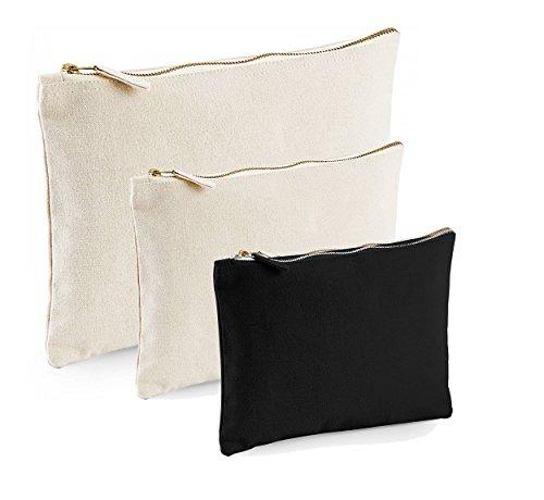 3 x Design Kosmetik Tasche verschiedene Größen weiß Kulturtasche Reise Kulturbeutel