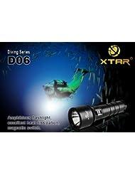 XTAR D06 Linterna Buceo LED set completo