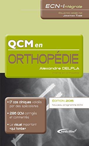 En ligne QCM en Orthopédie (ECN-Intégrale) pdf, epub