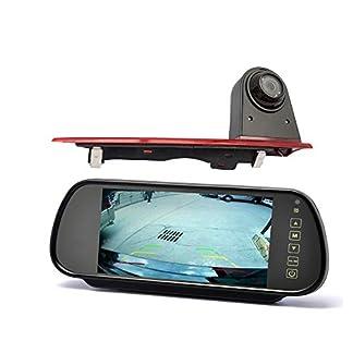YMPA-Rckfahrsystem-Einparkhilfe-Transporter-kompatibel-mit-Ford-Custom-Rckfahrkamera-mit-Monitor-178-cm-7-Zoll-Inch-10-Meter-Kabel-Farbe-IR-Nachtsicht