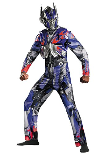 Adult Transformers 4 Deluxe Optimus Prime Fancy dress costume 2X-Large