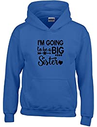 Im Going To Be Big Sister Grossesse Des gamins Sweat à capuche