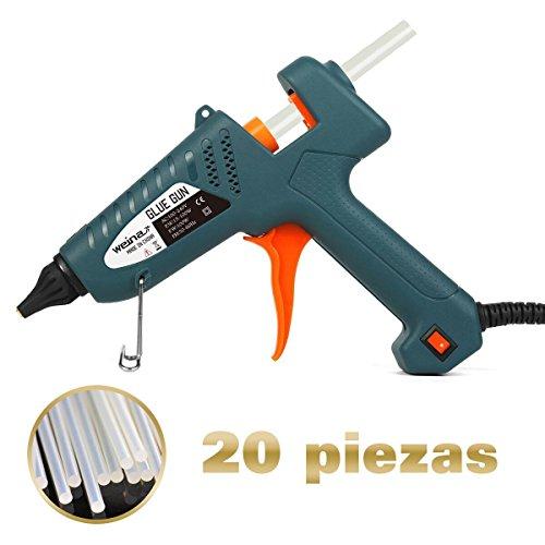 Pistolet–Colle-Professionel-100W-Armes-Chaude-avec-20-pcs-200mm-Btonnets-de-Colle-WEINAS-Haute-Temprature-DIY-Artisanat