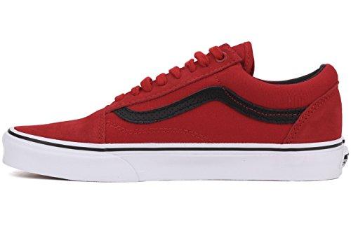 Vans Old Skool Scarpe da skater, Basse, Unisex, Adulto (c-p) racing re