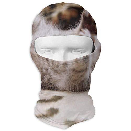 Balaclava Cute Animal Love Full Face Masks Ski Headcover Motorcycle Hood for Cycling...
