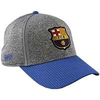 Gorra FC. Barcelona - Producto Oficial Licenciado - Grey - Talla Adulto  ajustable 071a9ea8096