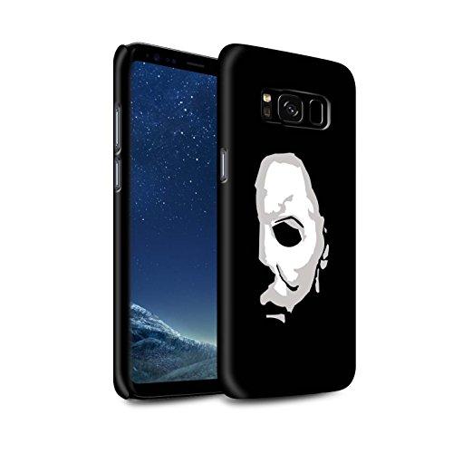 Stuff4® Matte Snap-On Hülle/Case für Samsung Galaxy S8/G950 / Michael Myers Inspiriert Kunst Muster/Grusel Filmkunst Kollektion