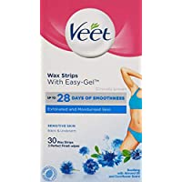 Veet Sensitive Bikini 30 Cold Wax Strips