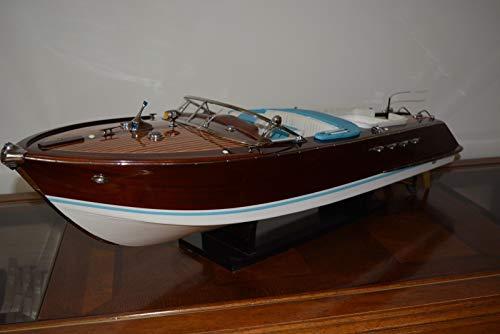 Générique modellino in legno del motoscafo riva aquarama special, 67 cm, radio controllo possibile