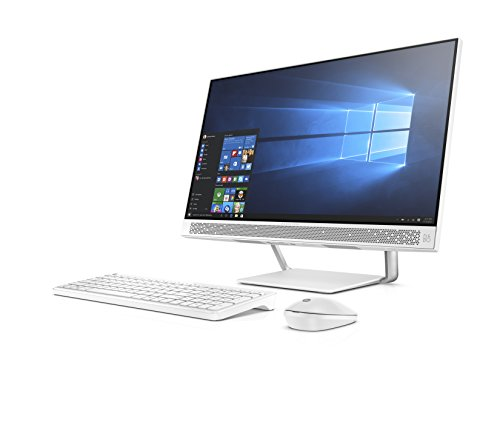 HP Pavilion AIO 24–q254in 23.8-inch All-in-One Desktop (7th Gen i5-7400T/8GB/1TB/Windows...