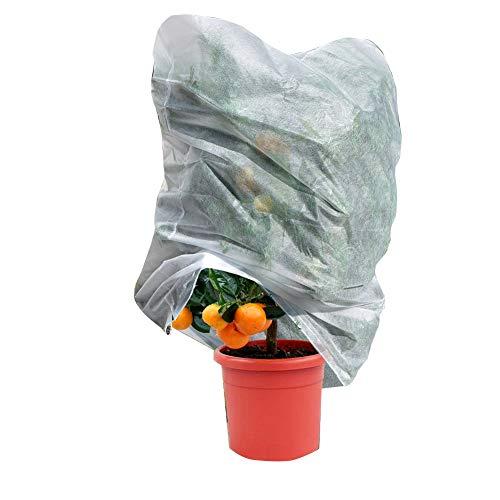 LIANGLIANG Baumüberdachung Gartenarbeit Extra Große Frostschutzabdeckung Windproof Rainproof Wärmeschutz Vliesstoff Faltbar
