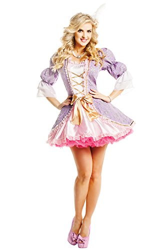 Marie Antoinette Fancy Dress Costume - Medium Fancy Dress